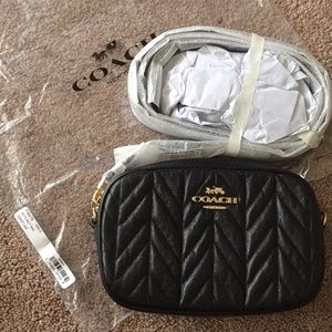 NWT Coach Convertible Quilted Belt Bag F38678
